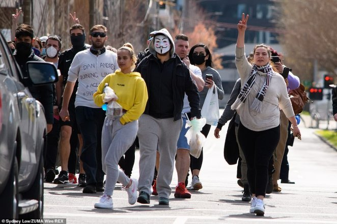 About 1,100 people had shown interest in Sunday's walk and 340 had committed to attend before Facebook took down the event's online page on Wednesday