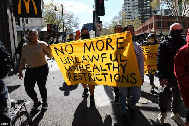 On Sunday, those Melburnians took a stand against a lockdown they honestly believe is wrong. By the end of the day, Victoria Police had arrested 74 of them and handed out 176 fines