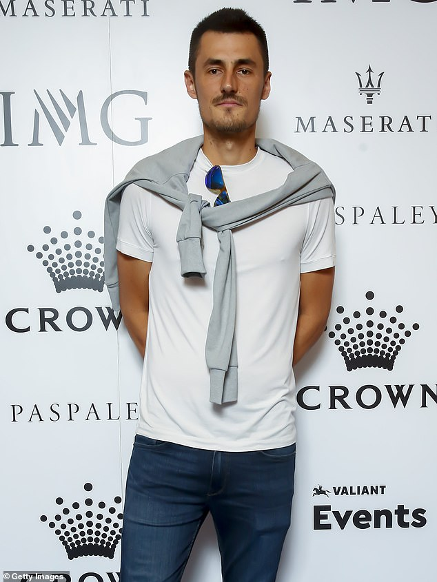 Tomic, the former world number 17, has not played a professional match since March and has not won a Grand Slam match since mid-2018