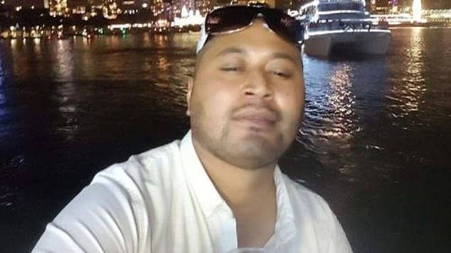 Police rushed to a Sydney Street home at St Marys, in Sydney's west, after welfare concerns were raised for Geo Sione, 35
