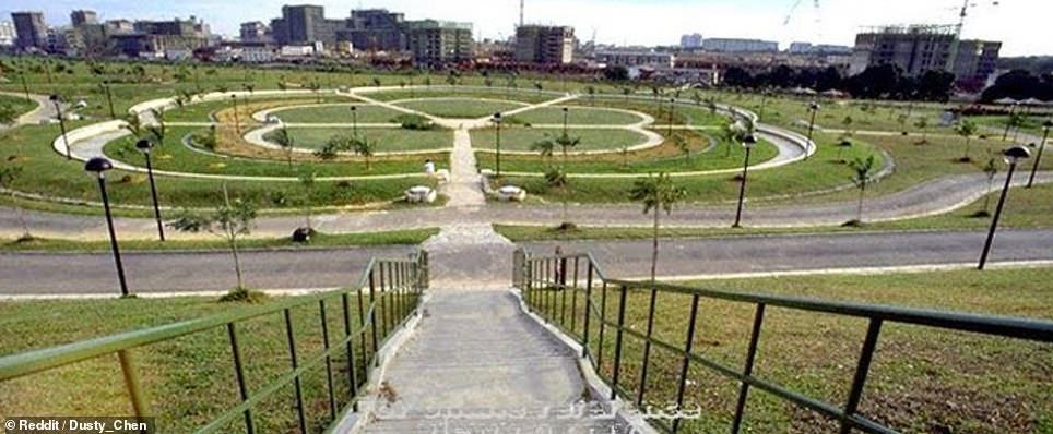 Bishan-Ang Mo Kio Park in Singapore in 1988
