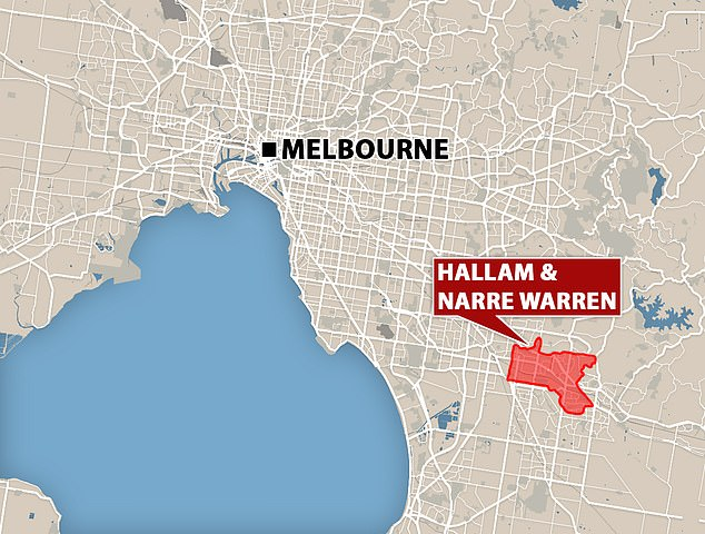 Residents in Hallam and Narre Warren have been urged to get tested for coronavirus after a spike of cases in the city's outer southeast