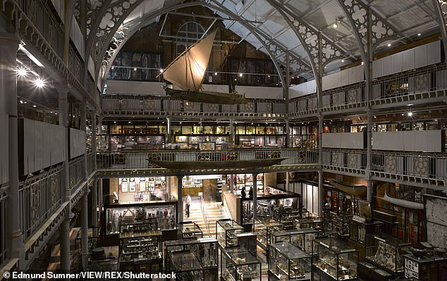 An exterior view of Pitt Rivers Museum Library, in Oxford.The museum was previously forced to remove two scalps from display after complaints by Native American communities