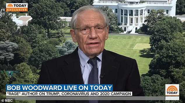 Bob Woodward confirmed reporting from his forthcoming book 'Rage' during an appearance Monday on the 'Today' show. He said President Donald Trump banned travel from China after his aides told him to make the move