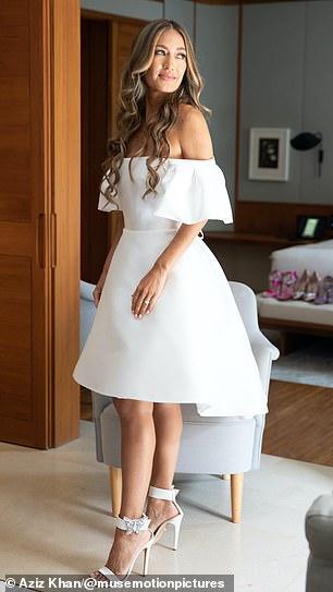 Radiant bride Aruna