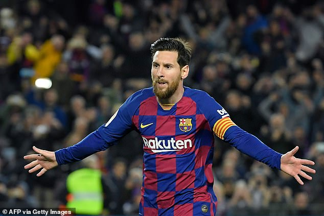 Barcelona star Lionel Messi has become football's second billionaire, Forbes have revealed