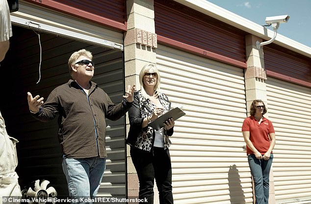 On screen:Dan and Laura Dotson run American Auctioneers in Riverside, California and they're best know as auctioneers on the A&E series Storage Wars. The pair have been featured in the reality show since season one back in 2010