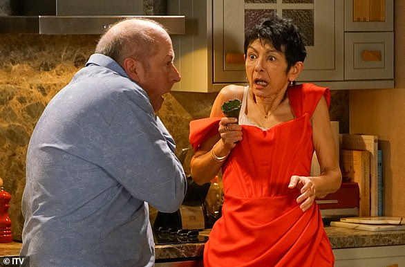 Story: Shelley King has been nominated in the best actress category for her performance as Yasmeen Metcalfe (pictured)