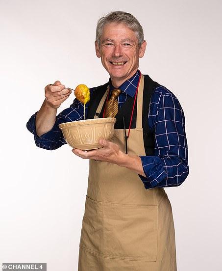 Go big or go home: Rowan describes his baking style as 'ostentatious'