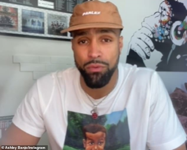 Candid: Ashley Banjo revealed on Sunday he and Diversity have been the target of 'racial abuse and threats' following the group's BLM-inspired routine on Britain's Got Talent