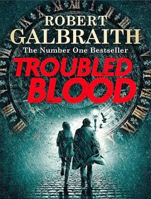 Troubled Blood is written under Rowling's pseudonym Robert Galbraith