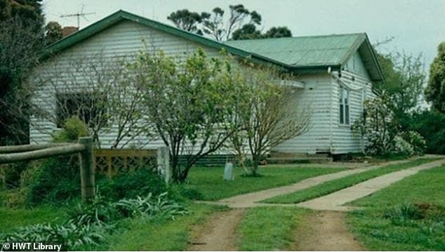During the 1990s, DNA testing found Vivienne's blood was on the suspected murder weapon but none of her DNA was on Beth's body, or around it. Pictured: Beth's house