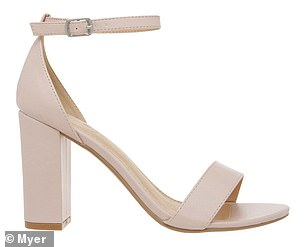 While these strappy block heels have been discounted to just $42