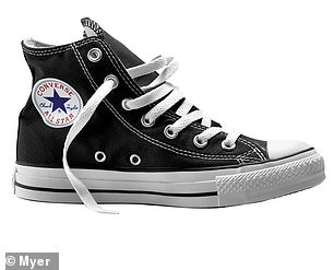 High-top Converse are reduced to $72