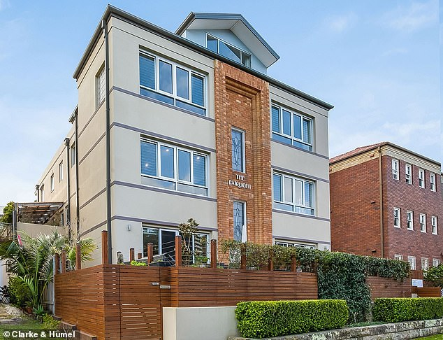Boutique: The apartments sits as one of six in The Fairlight, which was built in the 1920s