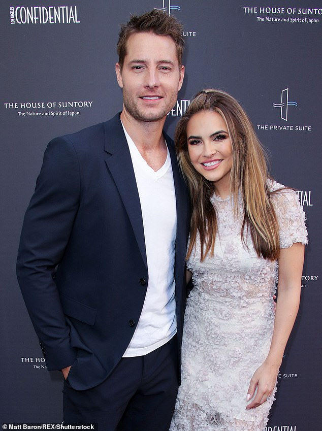 Ice cold: Chrishell's personal life made headlines last year after her husband Justin Hartley, who stars on This Is Us, told her he had filed for divorce via text message; shown in June 2019