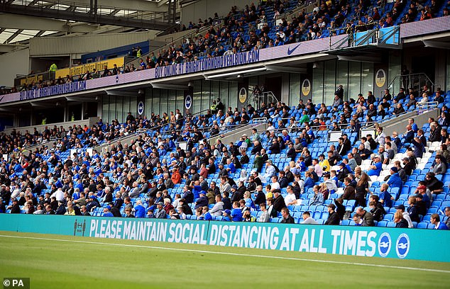 The Government has today confirmed that up to 2,500 spectators will be allowed back into stadiums from October 1 in a bid to stop the income stream of clubs from drying up
