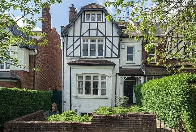 They are some of the most notorious addresses in Britain - and the two houses where serial killer Dennis Nilsen slaughtered and cut up his victims are still standing today. Pictured,Flat in Cranley Gardens, Muswell Hill