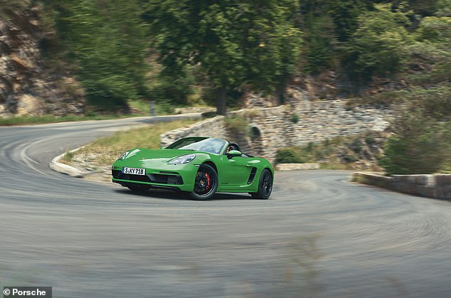 Buy a top-of-the-range Porsche Boxtter GTS 4.0 convertible, which has a top speed of 182mph, and it will cost you £2.660 less than the Aston Martin gaming simulator