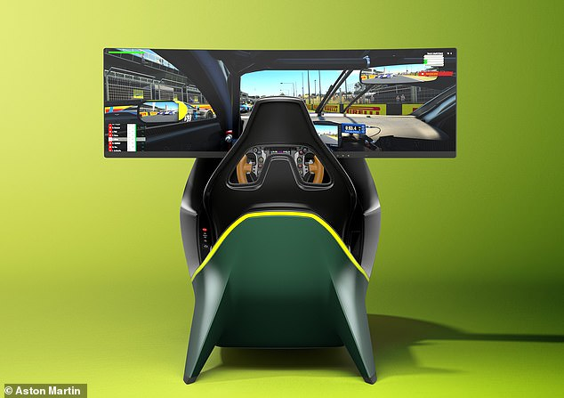 Inclusive of VAT, the rig for racing game costs a staggering £69,000 for UK customers