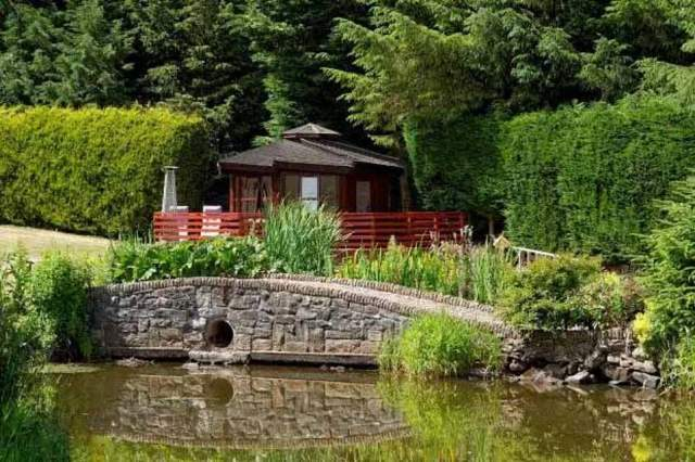 Lovely:Lewis Capaldi has paid a reported £1.6million for a stunning first home in Scotland's Castlehill, complete with its very own summer house and private island (pictured)