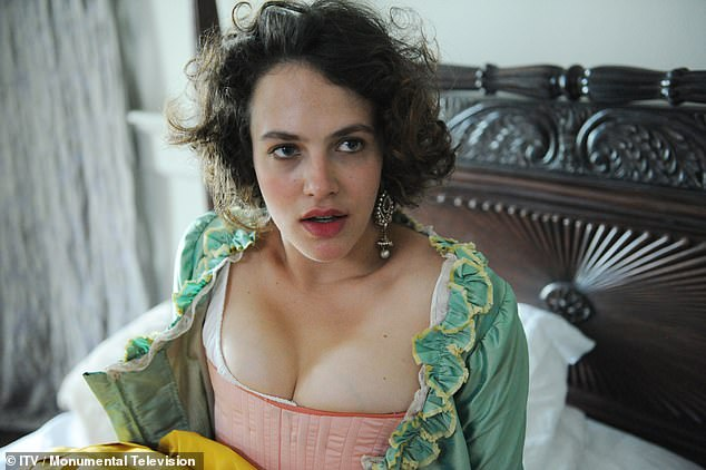 Love at first sight:The actress and new husband Ziggy met on the set of Hulu drama, Harlots, in 2017 where Jessica played Charlotte Wells and Ziggy played Sam Holland