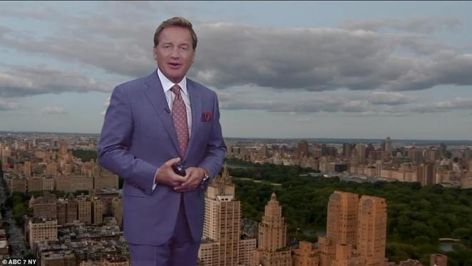 'Even though we have a sunny and dry forecast coming up, don't be surprised if it's more of a milky sun, or filtered sun,' Meterologist Lee Goldberg with ABC7 said of smoke coverage effecting New York City Monday