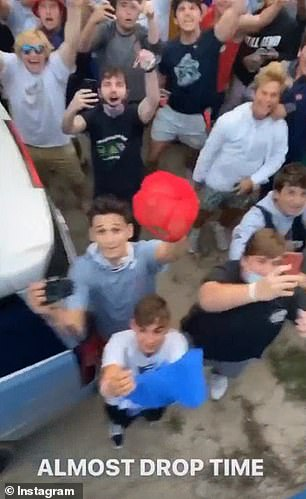 New Jersey police have been called in to break up a huge crowd of revelers gathered together for an event held by a group of YouTube pranksters known as The Nelk Boys