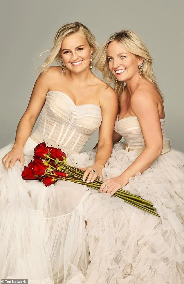 A rugby player, a professional fitness model and a dancer: Elly Miles (left) and her sister Becky (right) will be spoilt for choice on the new season of The Bachelorette