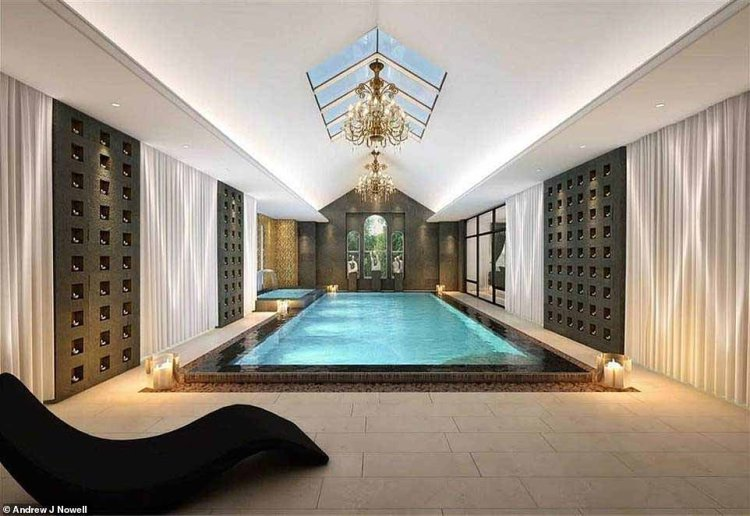 Lavish:Real Housewives of Cheshire star Dawn Ward is reportedly planning to transform her ₤14.5 million mansion into a luxury spa retreat, after getting planning permission from Cheshire East Council
