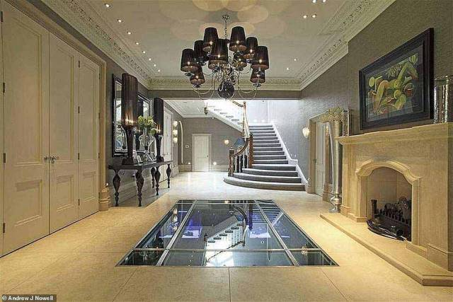 Hot property:The new extension would boast a heated swimming pool, spa facilities and hotel rooms for up to 30 people, transforming it into the ultimate boutique space