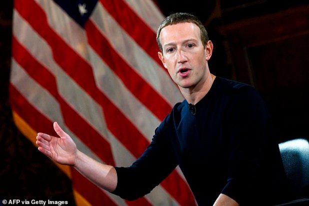 Facebook CEO Mark Zuckerberg appears in a file photo.  A leaked internal memo from a former Facebook employee has revealed his claims that the company has ignored or eliminated election intervention campaigns outside the US and Europe