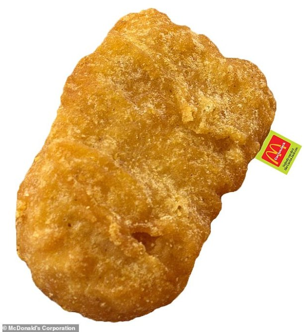 snuggle up!  McDonald's sold $ 90 chicken nugget body pill as part of a collaboration with Travis
