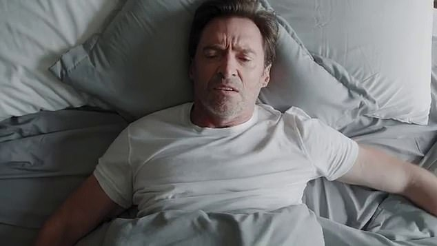 Funny!Ryan Reynolds and Hugh Jackman (pictured) have been embroiled in a long-running 'feud'. And the pair 'clashed' again in a new commercial for Hugh's Laughing Man Coffee Company shared to Instagram on Tuesday