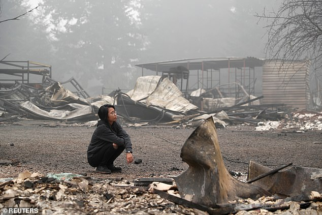 The fires have caused hazardous air quality conditions in Portland, Oregon, Seattle and San Francisco