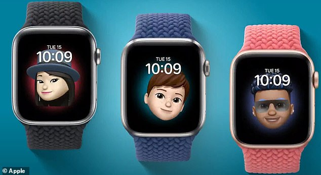 There are new faces, including Memoji, that users can customize to fit their needs and personality