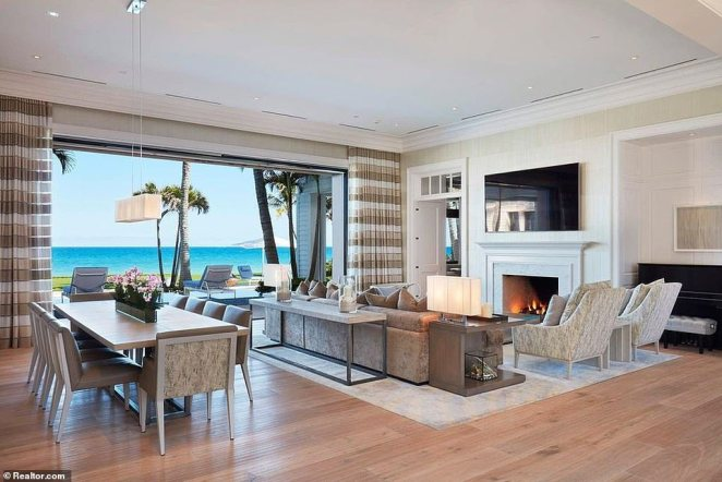 Nordegren initially listed the 11 bedroom, 18 bathroom compound for $49.5 million, before drastically slashing the price