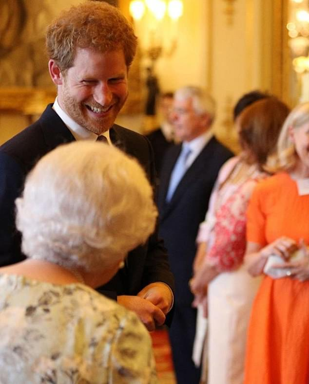 How extraordinary to learn that they too are not recent photographs but several years old. The one of Harry and the Queen was also taken in 2017