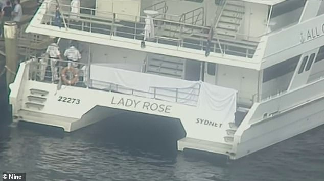 Ms Abdulhussein had been on board the Lady Rose catamaran for a four-hour birthday party