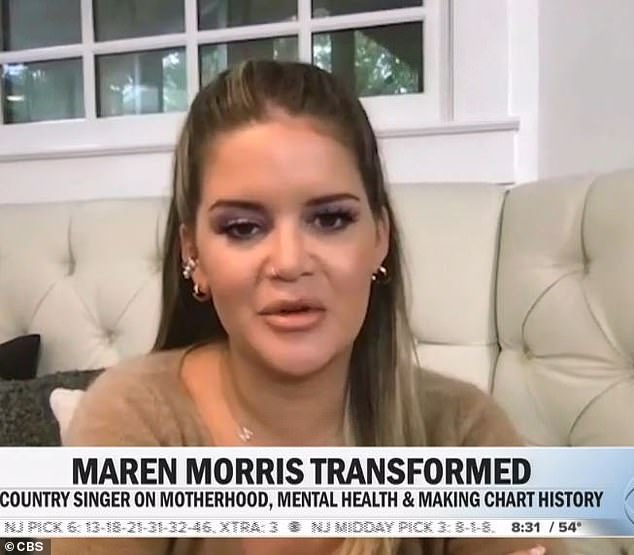 The latest: Maren says she's through the worst of her battle with postpartum depression, five months after giving birth to her son Hayes Andrew. She appeared Monday on CBS This Morning