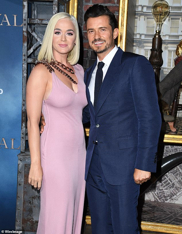 Concerned: The singer, 35, obtained a restraining order against William Terry, 38, after he 'trespassed' on her property, according to documents obtained by The Blast (Katy pictured with Orlando Bloom last year)