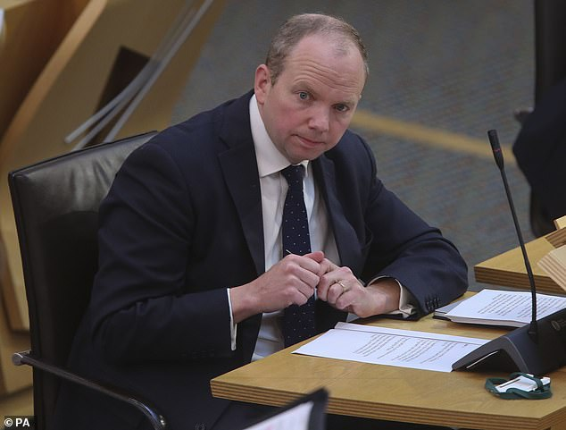 Last night Scottish Tory health spokesman Donald Cameron(pictured) said: ¿What has happened in our care homes across Scotland during Covid-19 has been absolutely tragic'