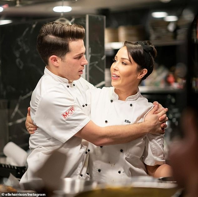 Bad timing: Jake and Elle filmed their season of MKR last year, but due to a production method that involves shooting multiple endings, they didn't know they'd actually won until the finale went to air in March -the same month COVID-19 was declared a pandemic