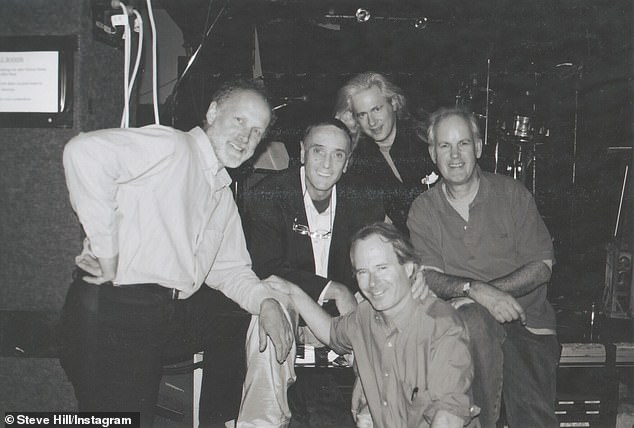 Steve Hill (centre) was the original singer in the band, but died after a battle with liver cancer in 2005