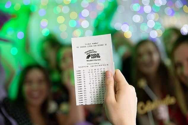 A Queensland man who played the same lotto numbers for twenty years is Australia's newest millionaire after winning $1million in Monday's Gold Lotto draw (stock image)