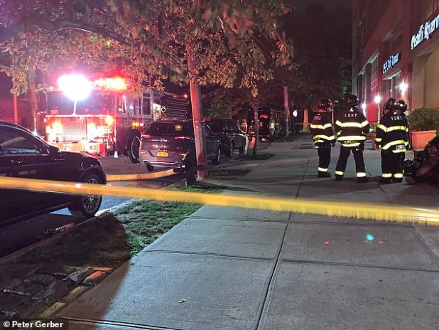 Adjoining buildings evacuated