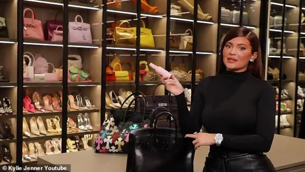 What's in Kylie's bag: In the What's in My Bag video uploaded to her popular YouTube channel on Tuesday, Jenner happened to show off a plethora of products from her makeup and skincare lines