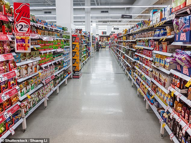 Shoppers can expect huge savings on 190 products across its aisles as the supermarket giant continues to lower the cost of living to help struggling Australians (file image)