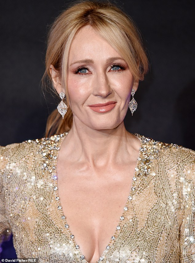 Rabble Books and Games announced on Wednesday the Western Australia store would cease stocking JK Rowling (pictured) novels