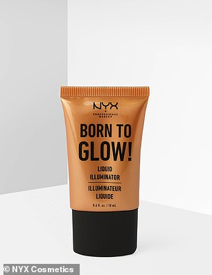 The NYX Born To Glow Liquid Illuminator is a multi-functional product that can be used as both a primer or a liquid highlighter to sharpen points on the face
